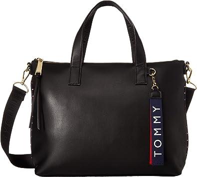 ff338dcb96f Tommy Hilfiger Women's Devon Convertible Shopper Black One Size ...