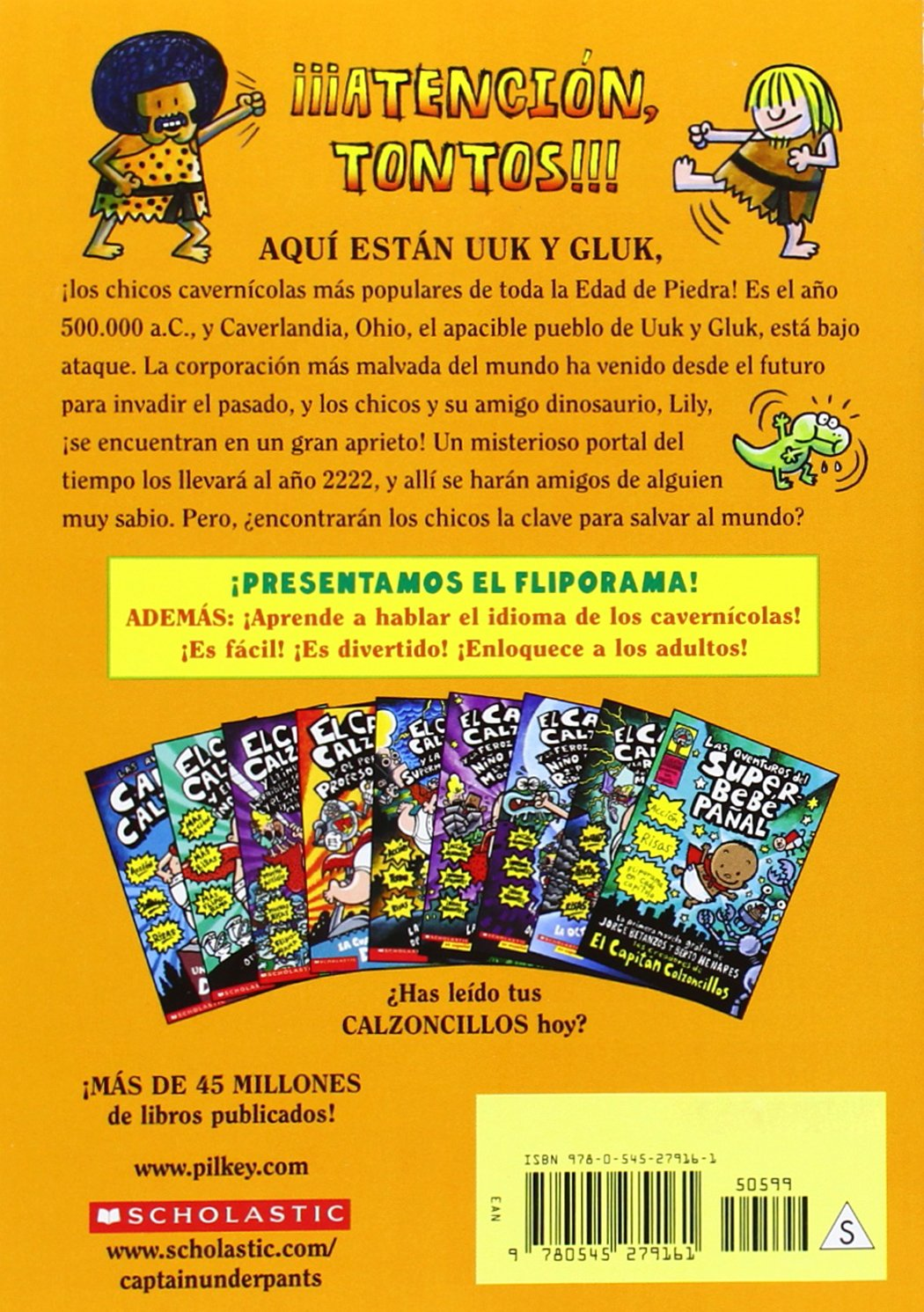 Las aventuras de Uuk y Gluk, cavernícolas del futuro y maestros de kung fu: (Spanish language edition of The Adventures of Ook and Gluk, Kung-Fu .