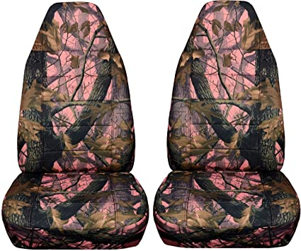 Camouflage Car Seat Covers Pink Real Tree Camo