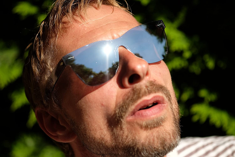 amoloma estilo sin marco sin rebordes de las gafas de sol ...