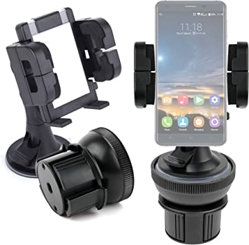 DURAGADGET Soporte De Coche para Smartphone Oukitel K6000 Pro ...
