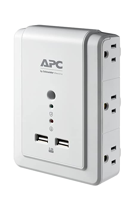 Review APC 6-Outlet Wall Surge