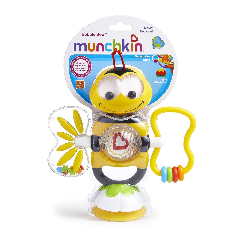 Amazon Munchkin Bobble Bee Suction Toy Early Development