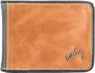 VÉLEZ 01747 Leather Bifold Wallets For Men | Cartera De Cuero De Hombre Beige