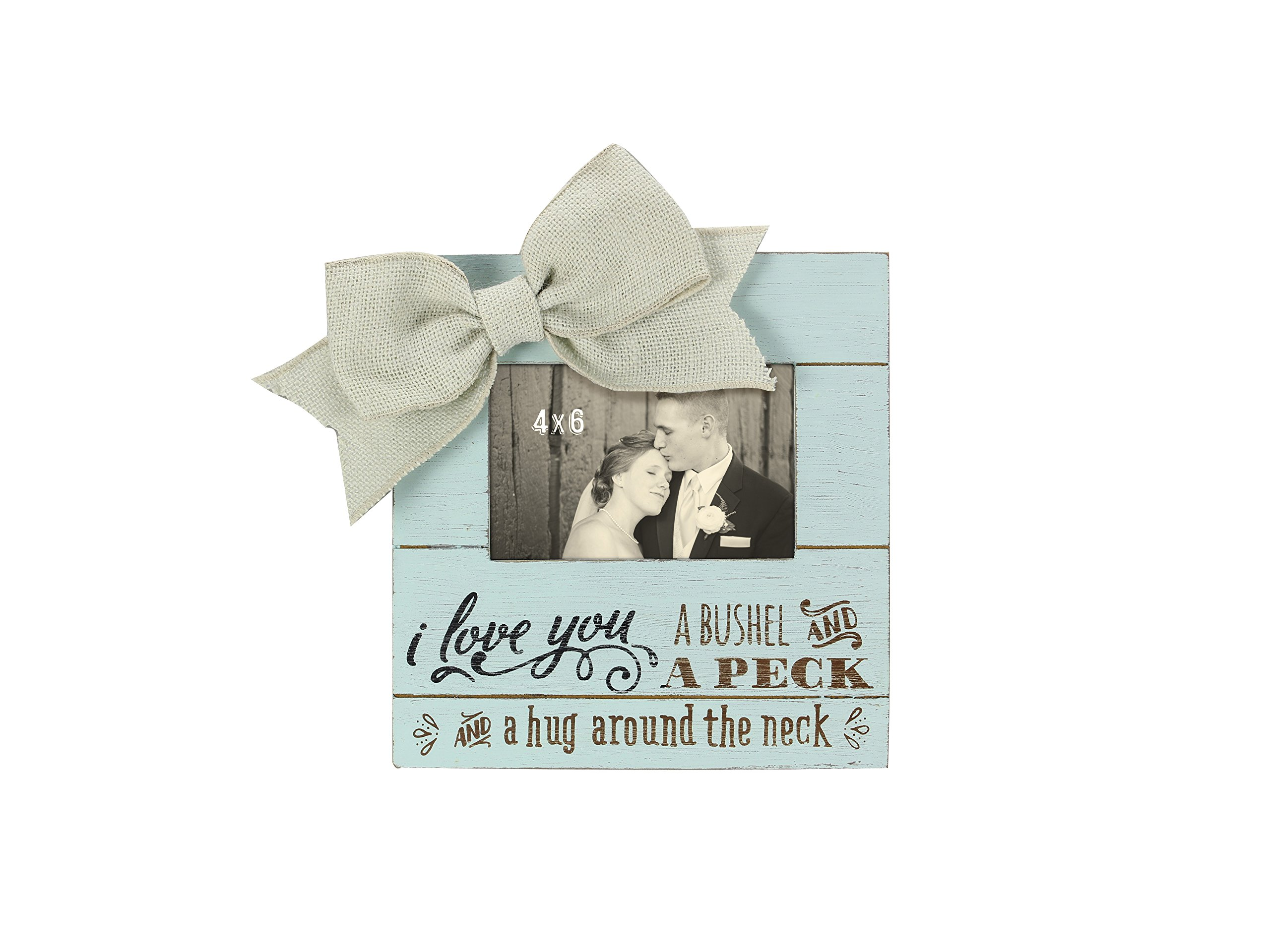 Young's Wood Love You Picture Frame, 9'' x 9.5'' x 2.5''