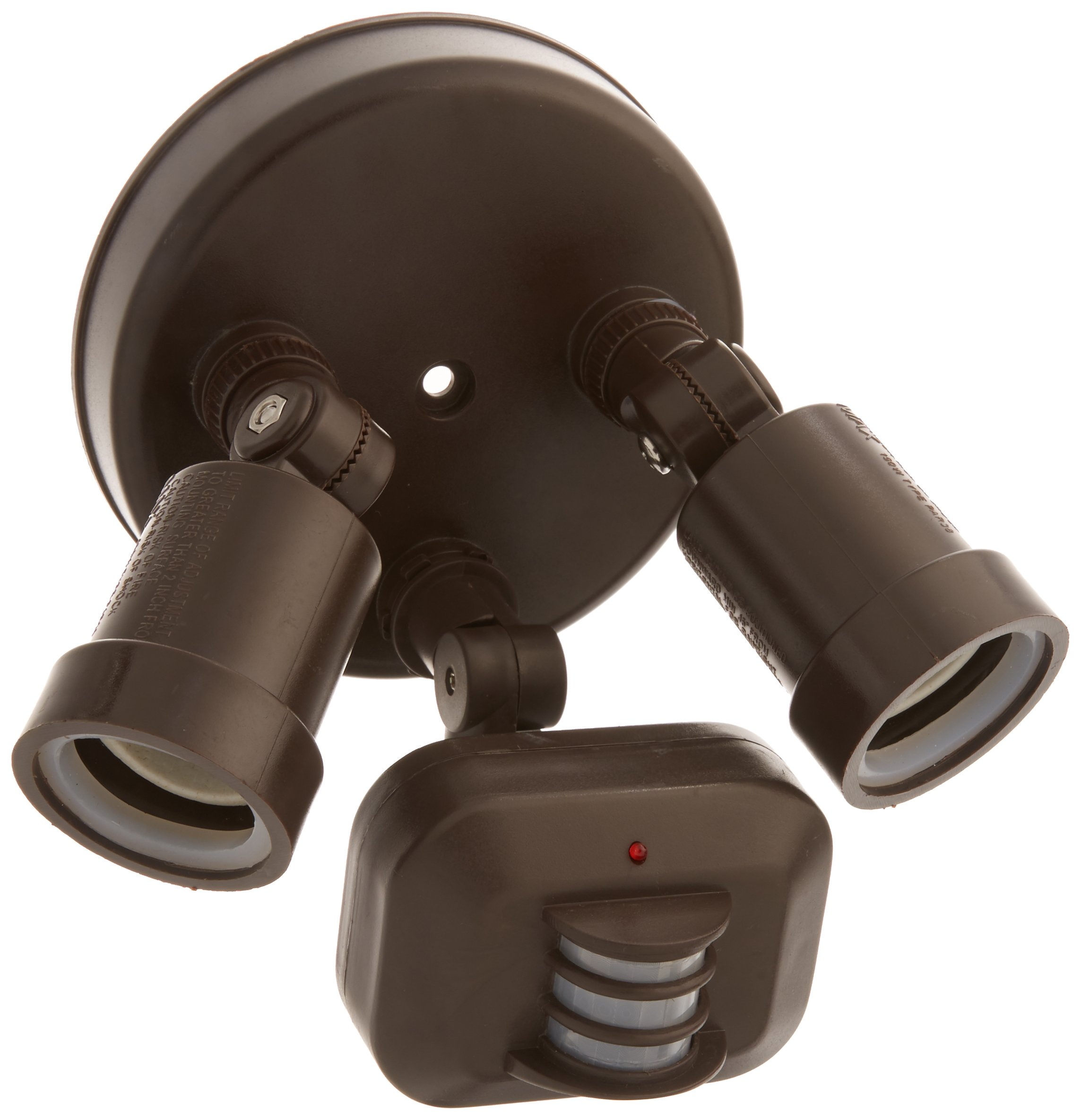 Acclaim MFL2ABZ Motion Activated FloodLights Collection 2-Light Outdoor Light Fixture, Architectural Bronze