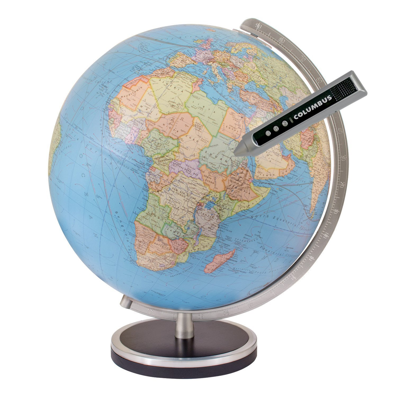 Columbus Pathfinder 13 Inch Interactive World Globe