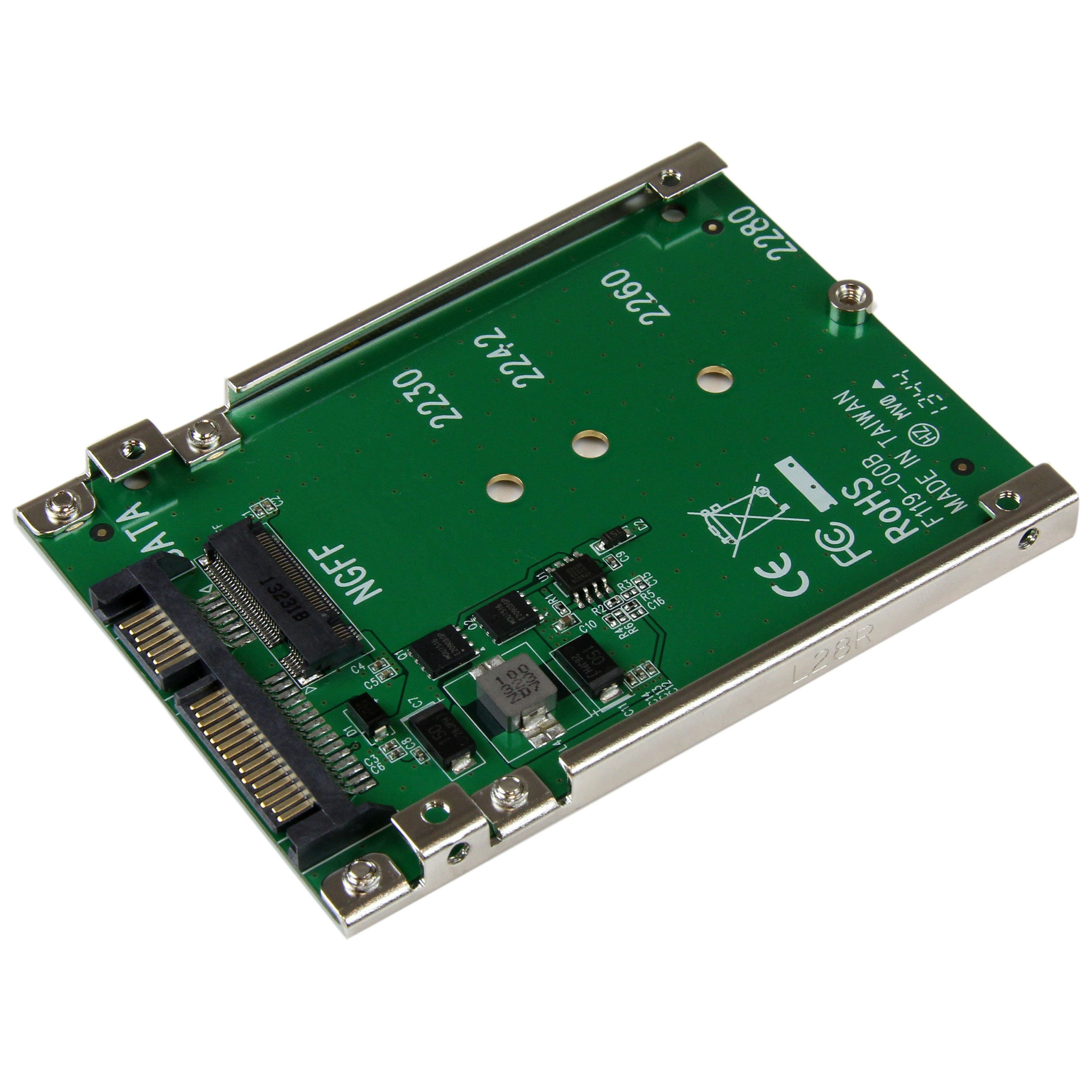 StarTech M.2 NGFF SSD to 2.5in SATA Adapter Converter (SAT32M225) by StarTech (Image #1)