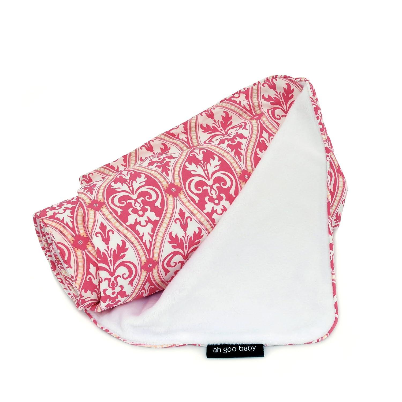 Ah Goo Baby Stroller Blanket, Retro Daisy, Chocolate/Multi, 1-Pack 11-9388-01