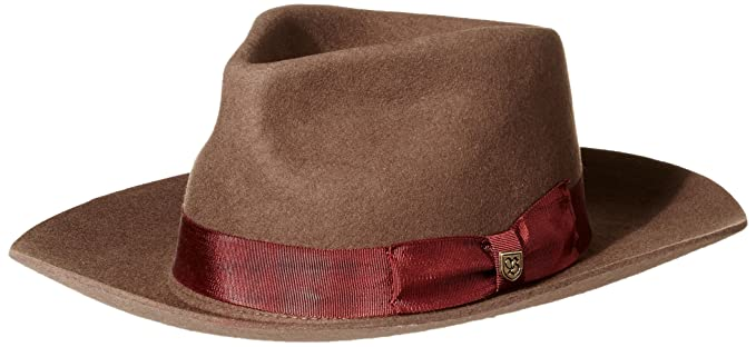 f7a921f22e5ae ... where can i buy brixton mens lopez fedora hat brown rust x large d244c  cac6d