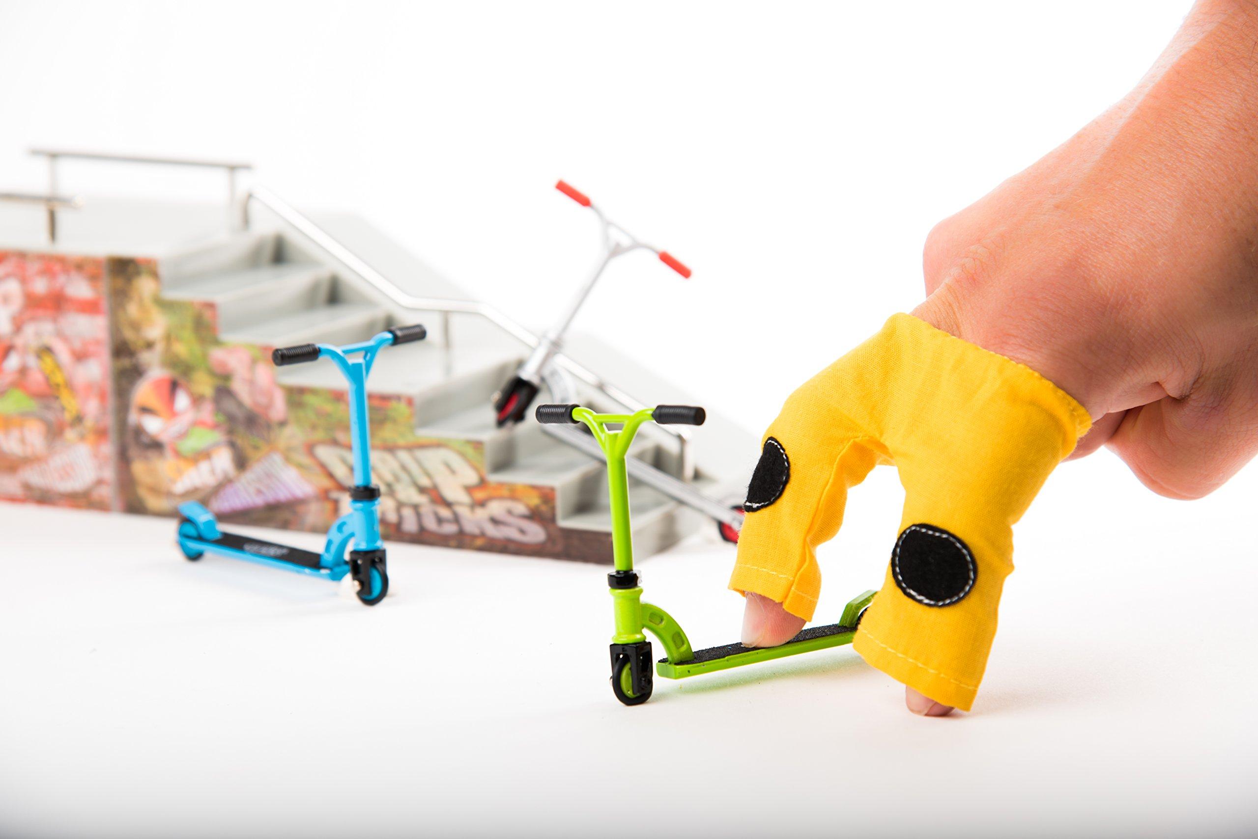Grip & Tricks - Finger SCOOTER - Skate - Pack1 - Dimensions: 22 X 13,5 X 2 cm by Grip&Tricks by Grip&Tricks (Image #6)