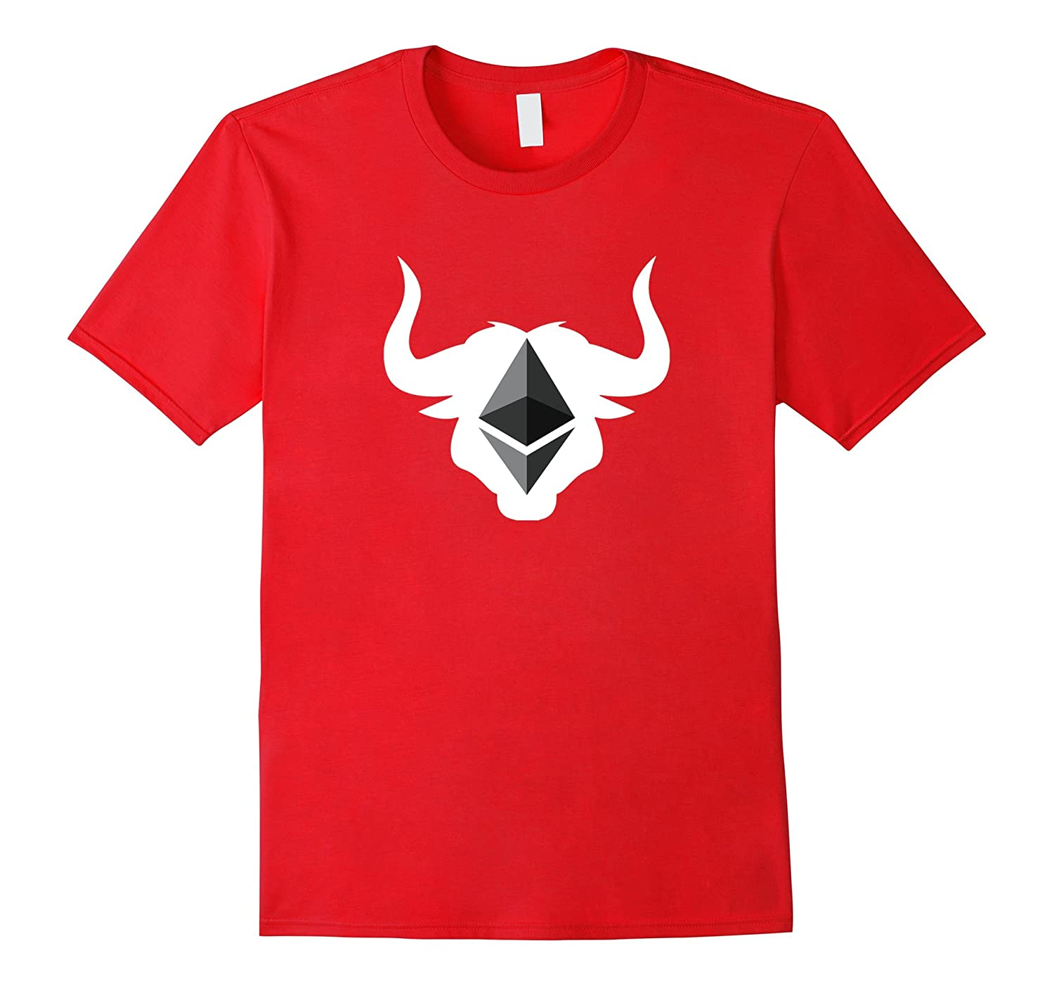 Ethereum Bull Market Run Cryptocurrency ETH T-Shirt-PL