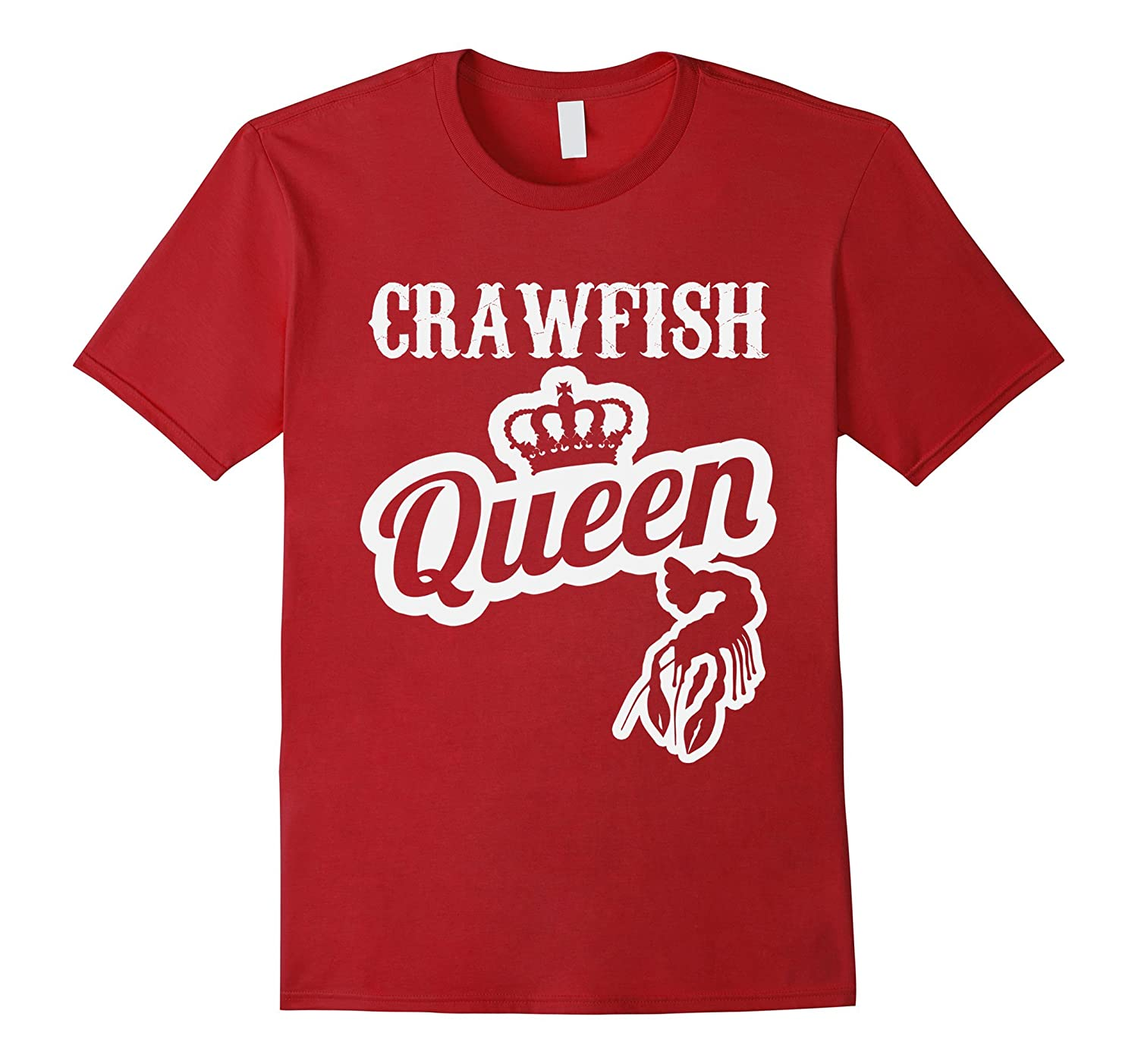 de22959292 Crawfish Queen Tee Cajun Boil Mudbug Crayfish Crawdad Gift-CD – Canditee