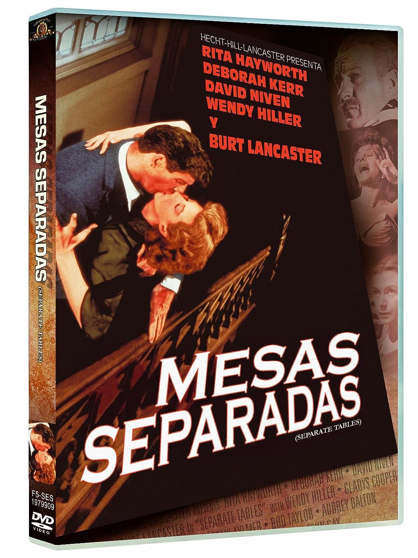 Mesas Separadas [DVD]: Amazon.es: Wendy Hiller, Gladys Cooper ...