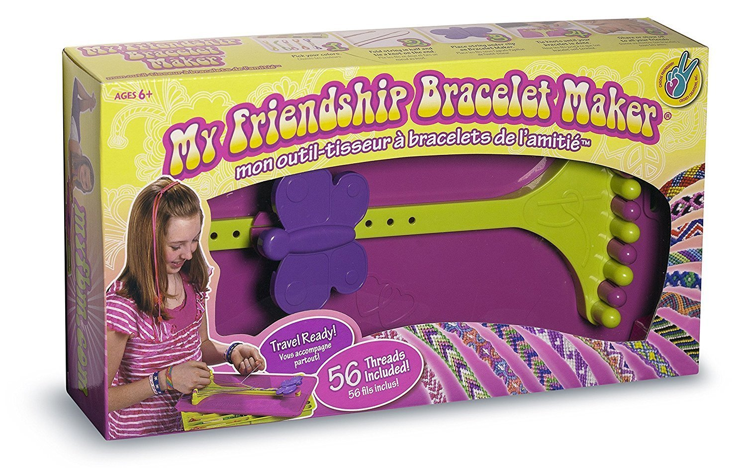 DMC - My Friendship Bracelet Maker Bracelet Making Kit product image