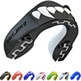 SAFEJAWZ Mouthguard Slim Fit, Adults and Junior Mouth Guard with Case for Boxing, Basketball, Lacrosse, Football, MMA…