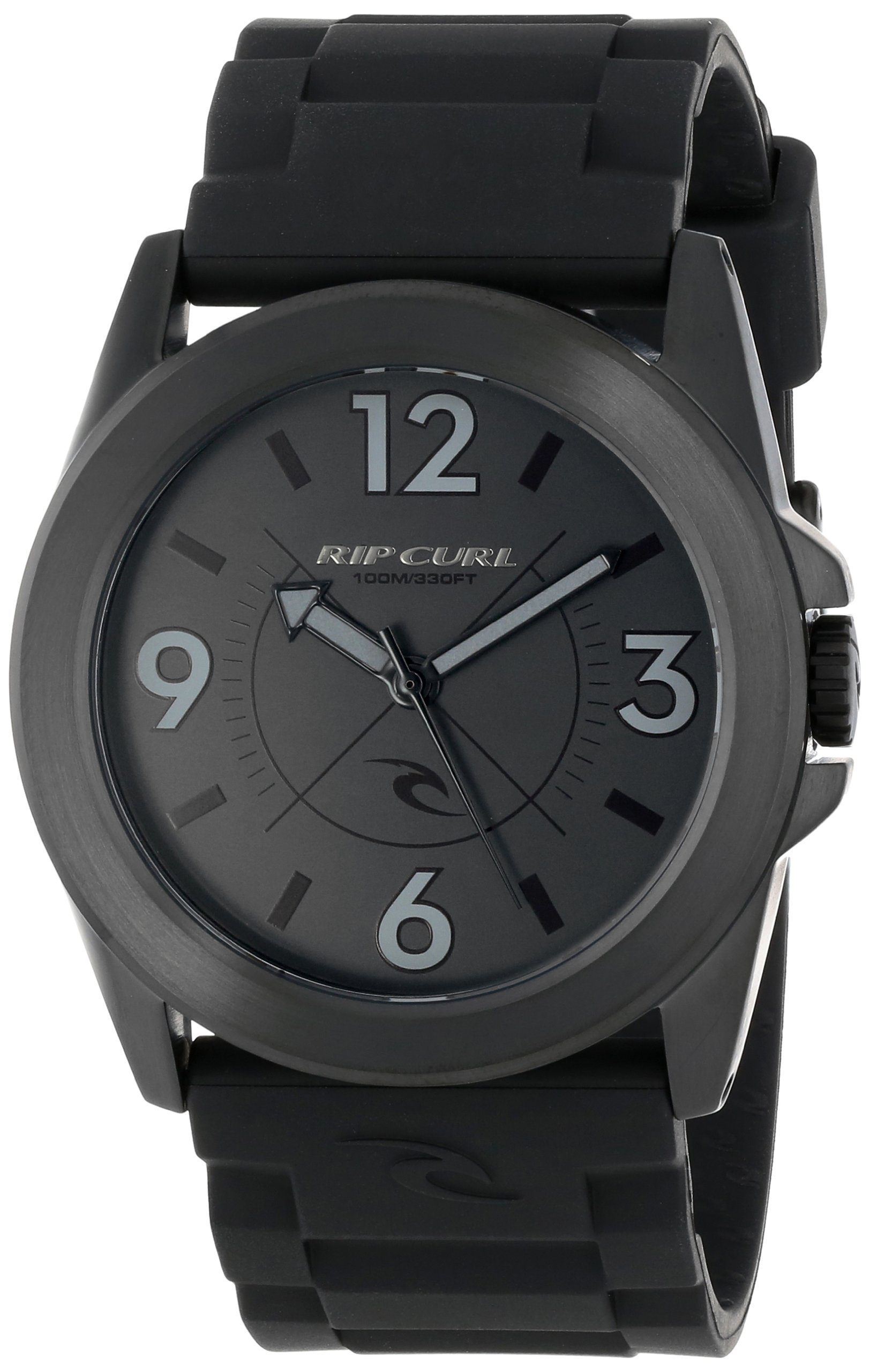 Rip Curl Men's A2465  ''Radar'' Stainless Steel Watch with Black Band
