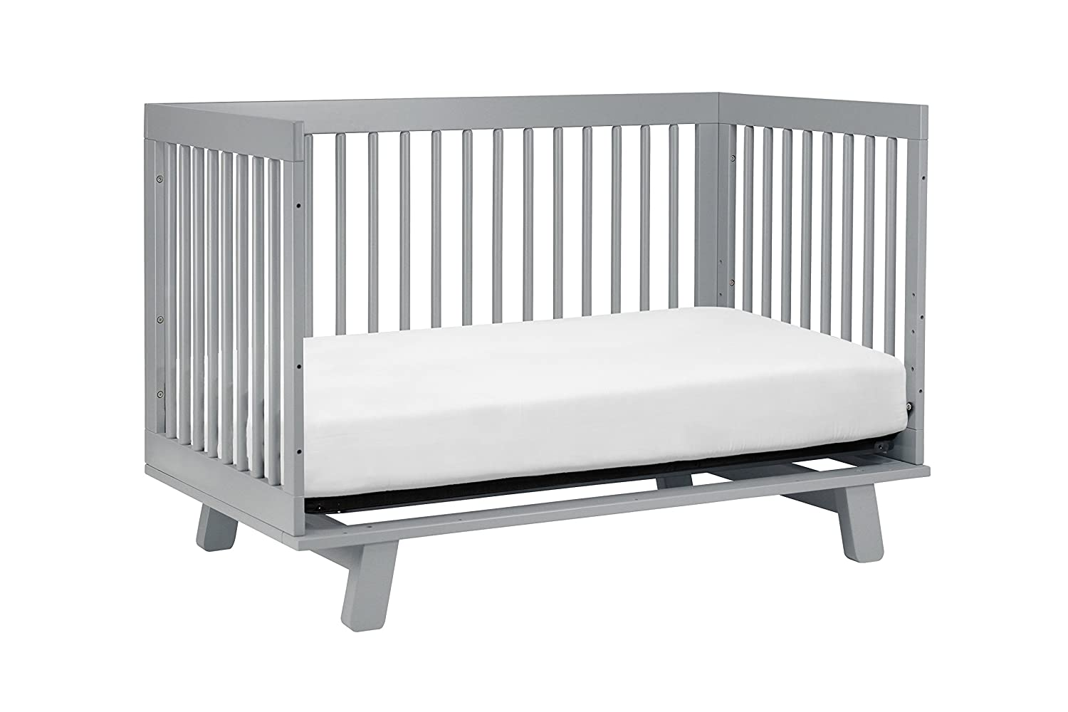 babyletto hudson in convertible crib with toddler rail grey  - babyletto hudson in convertible crib with toddler rail greyamazonca baby