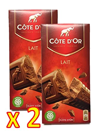 Cote Dor Belgian Milk Chocolate Bar Xl 705 Ounce 200 Gram Pack 2 X 200g