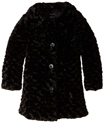Amazon.com: Calvin Klein Girls' Faux Fur Jacket: Clothing