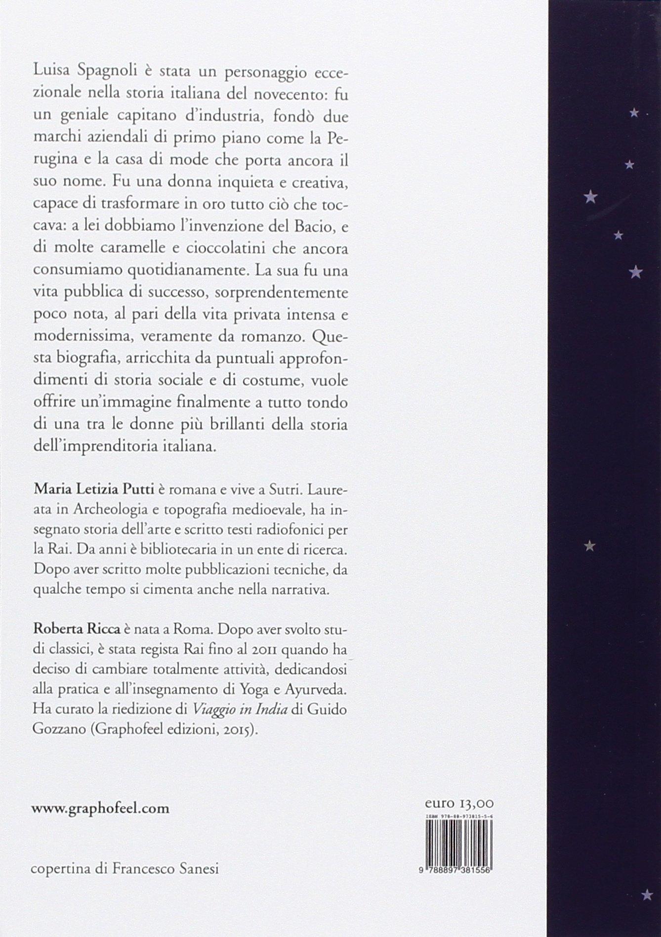 La signora dei baci. Luisa Spagnoli  Amazon.it  M. Letizia Putti ... d479b9e1b34