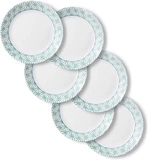 product image for Corelle Chip Resistant Dinner Plates, 6-Piece, Amalfi Verde