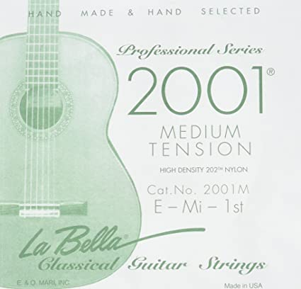 La Bella 2001- Medium Tension