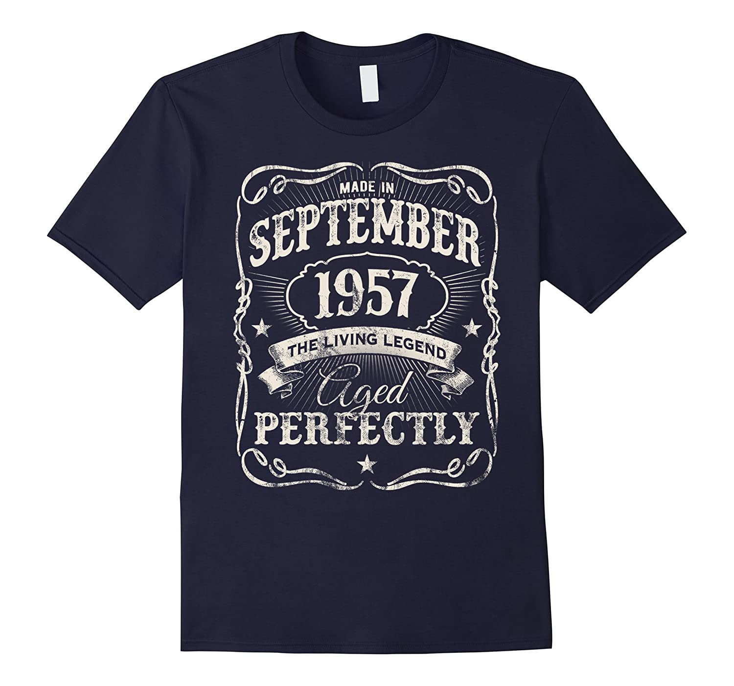 Vintage Made In September 1957 Limited Edition 60th Birthday-Art