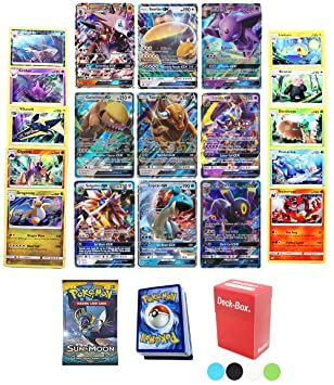 Pokemon TCG Guaranteed GX - Sun & Moon Booster Pack - 30 Card Elite Trainer  Kit