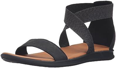 Reef Women's Rover Hi Le Gladiator Sandal, Black, ...