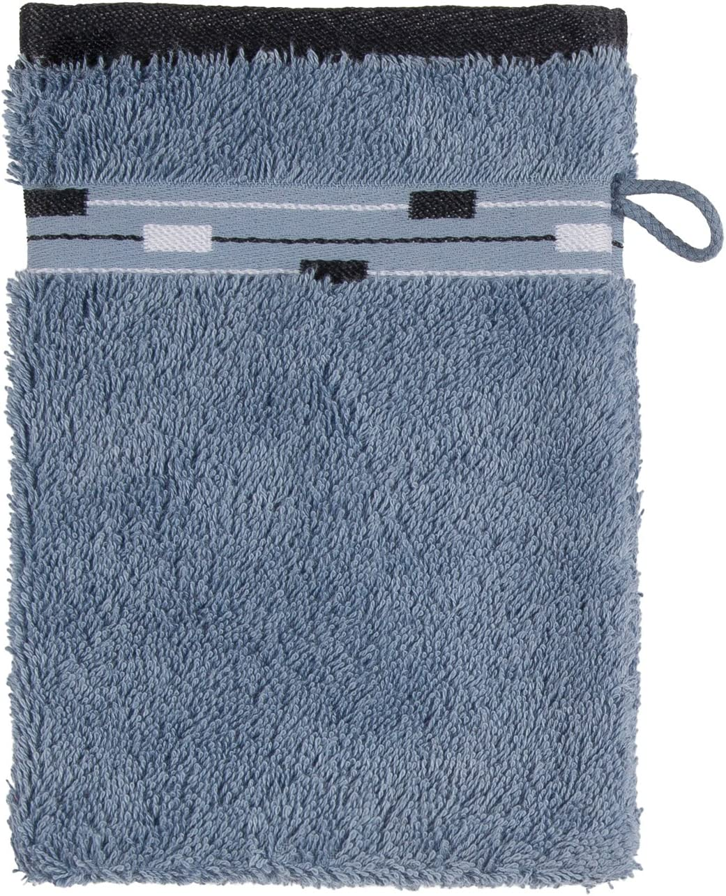 Frottana Magic Manopla de baño, algodón, Blaustone, 20 x 15 cm ...