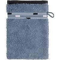 frottana Magic tvätthandske 15 x 20 cm tillverkad av 100 % bomull, bluestone
