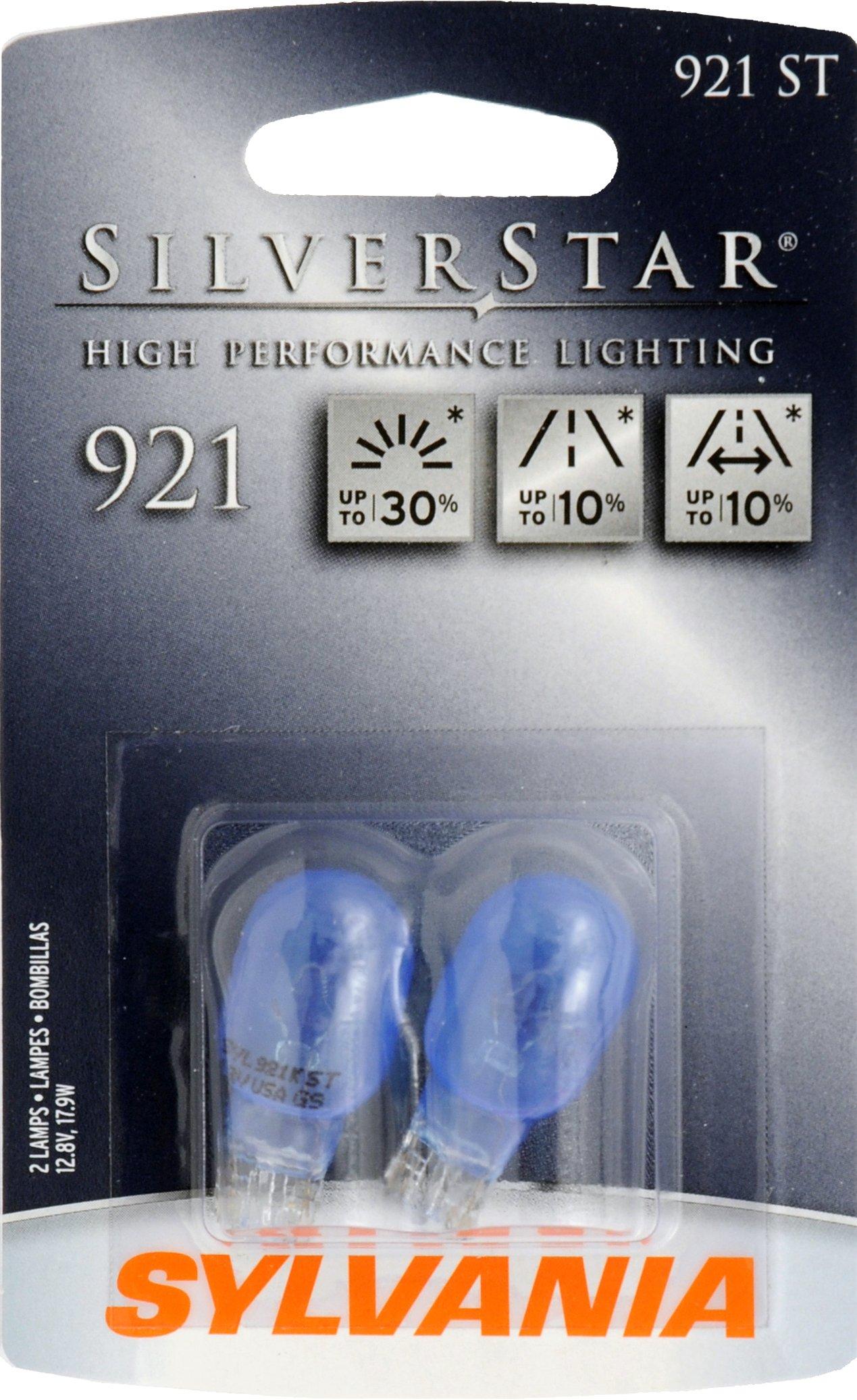 Osram Sylvania 921 ST SilverStar High Performance Halogen Miniature Lamp, (Pack of 2)