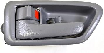 New Door Handle Trim Front Driver or Passenger Side Inner Interior Inside Gray