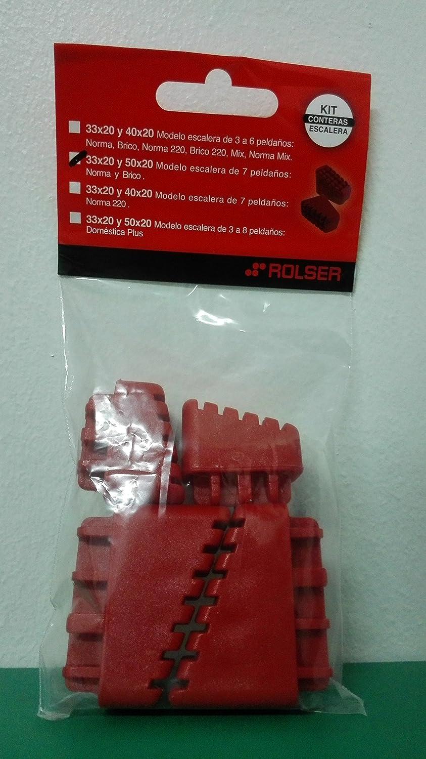 Rolser 2446C2 - Escalera Kit Conteras 7 Peldaños R: Amazon.es: Hogar
