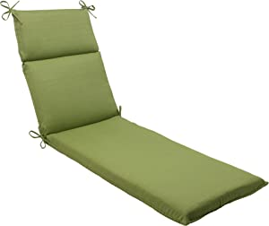 Pillow Perfect Indoor/Outdoor Forsyth Chaise Lounge Cushion, Green
