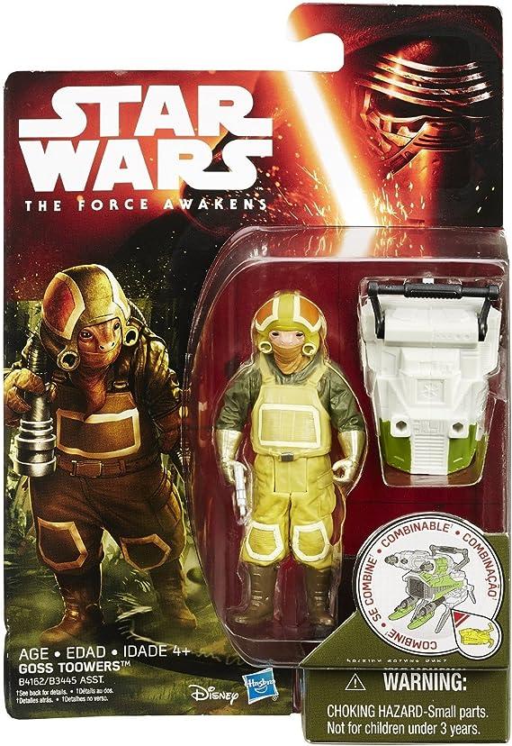 Poe Dameron 3 3//4 inch Action Figure Star Wars VII Jungle Space Wave 1