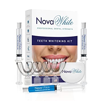 Teeth Whitening Kit 40 Treatments Of 36 Carbamide Peroxide 4 Mouth Trays Remineralization