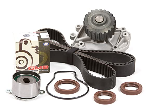 Evergreen TBK247WPT Fits 94-01 Acura Integra GSR Type-R VTEC 1 8 DOHC B18C1  B18C5 Timing Belt Kit Water Pump