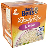 Uncle Bens Uncle Bens Jasmine Ready Rice 6 Pouches / 8.5 Ounce  Net Wt 51 Ounce , 51 Ounce