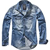 Brandit Sherpa Veste Denim en Jeans Avec Teddyfell S-5XL Vintage Blazer