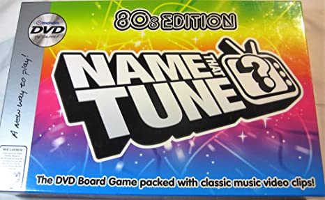 Name That Tune DVD Board Game - 80s Edition by Imagination