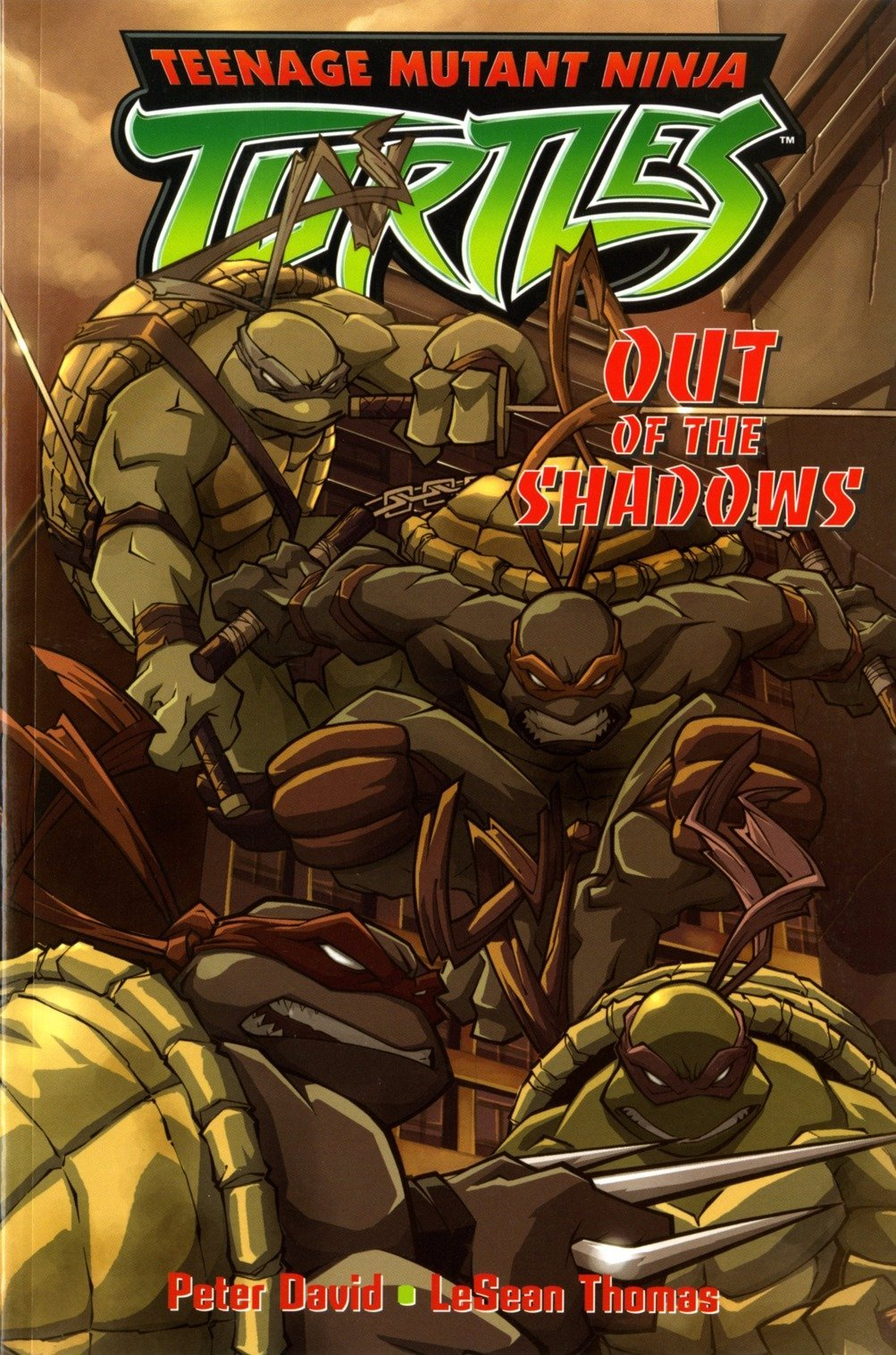 Teenage Mutant Ninja Turtles Out Of The Shadows Teenage Mutant Ninja Turtles Titan Books V 2 David Peter Thomas Lesean 9781845761462 Amazon Com Books