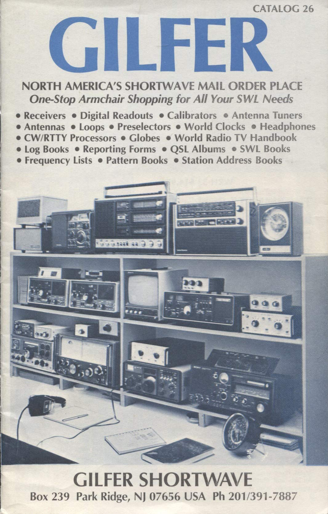 Gilfer Shortwave North Americas Mail Order Place Jeanne Preselector For Sw Receivers And O Perry Ferrell Books