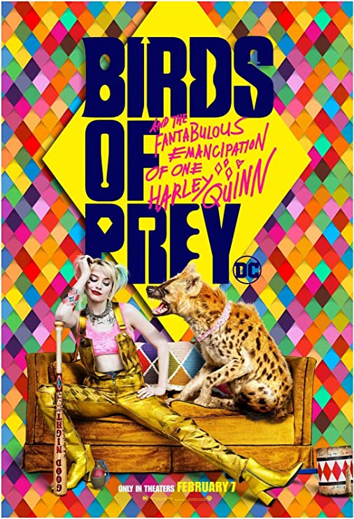 Amazon Com Birds Of Prey Movie Poster 24 X 36 Inches Usa Shipped Print Ready For Display 2020 Poster Version C Posters Prints
