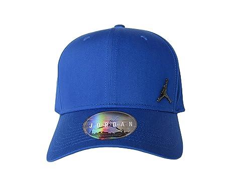 81b71a6fd Amazon.com : NIKE Jordan Classic99 Metal Jumpman Hat Hyper Royal ...