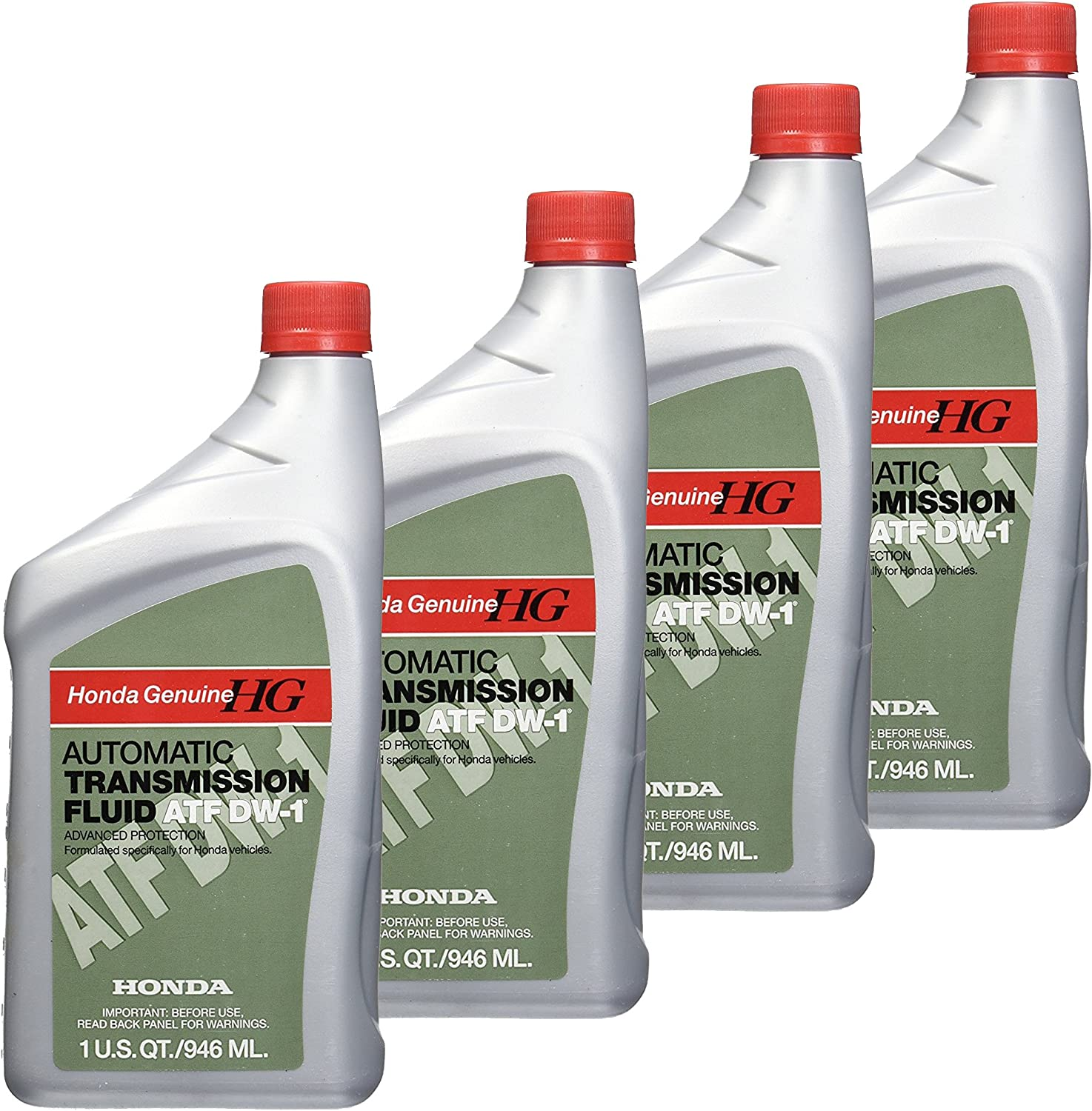 Honda FBA_08200-9008 08200-9008 Automatic Transmission Fluid, 4 Pack, 1 US QT /946...