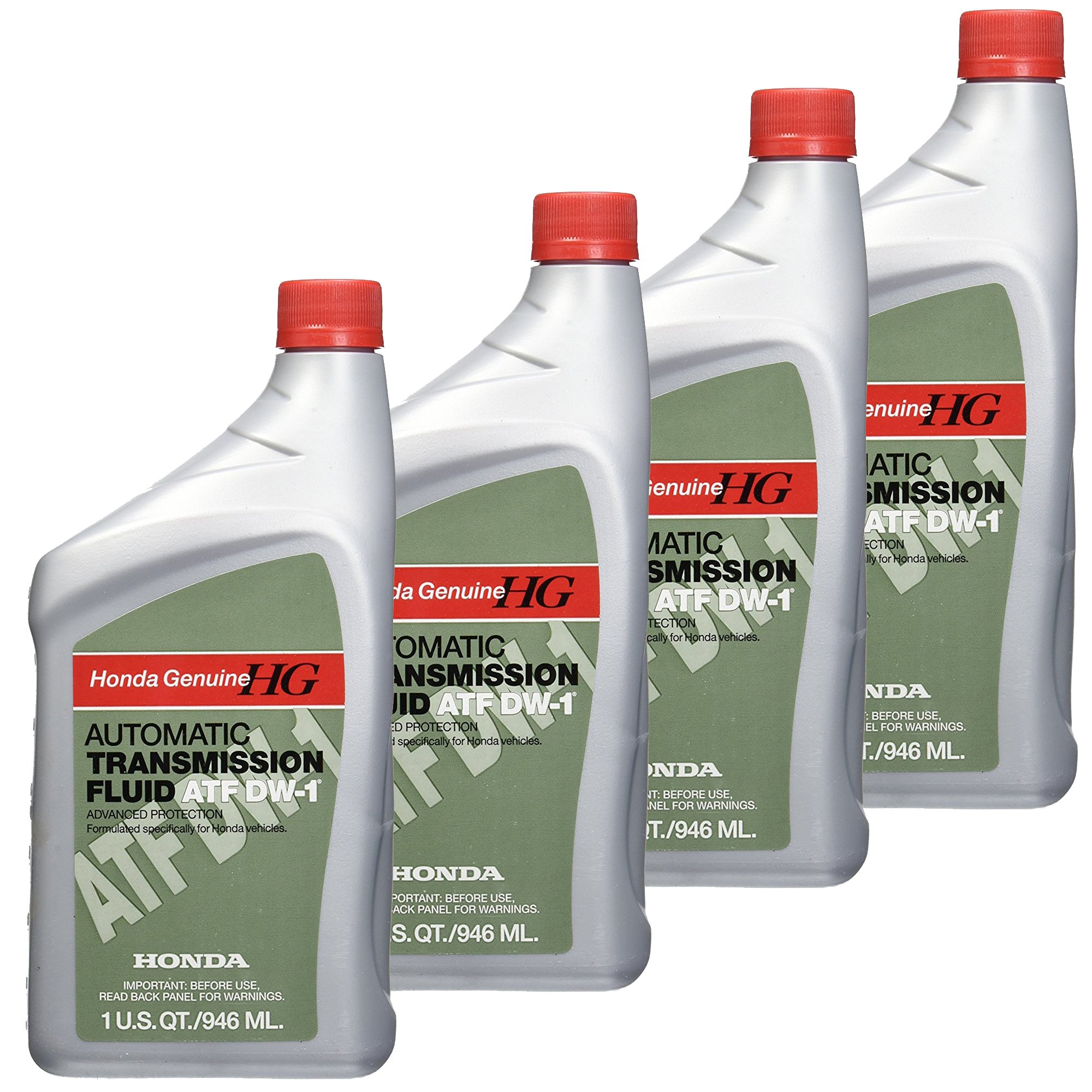 Honda FBA_08200-9008 Automatic Transmission Fluid, 4 Pack