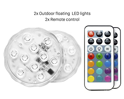 The Cheapest Price Underwater 4 Led Floating Light Show Swimming Pool Garden Xmas Party Water Lamp Up-To-Date Styling Lights & Lighting