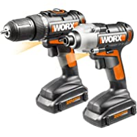 Worx WX916L 20V Li-Ion 2-Piece Combo Kit